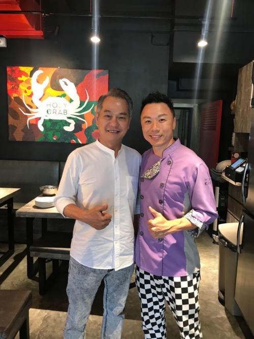 """Local veteran actor Mr Richard Low """"Lim Peh"""""""