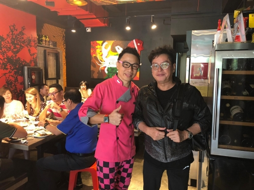 HKG veteran star singer Mr Alan Tam