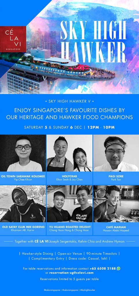 Enjoy Singapore's Favourite Dishes by Our Heritage and Hawker Food Champions