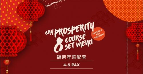 CNY, 10 / 8 Course Set Menu